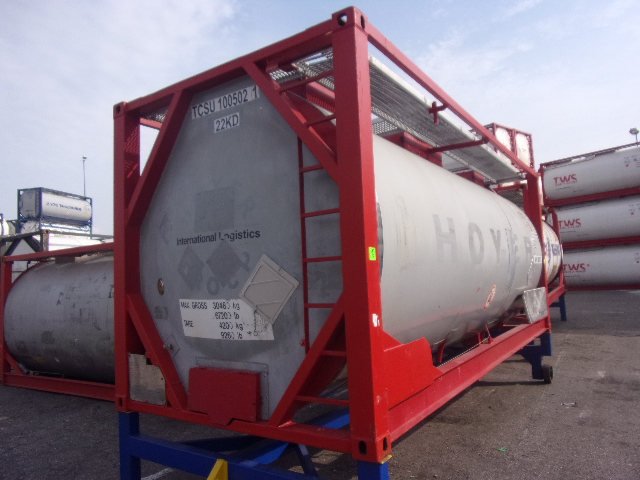 21000 liters IMO-1 tank container
