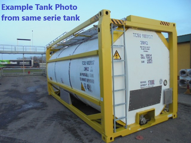 27000 liters T11 tank container