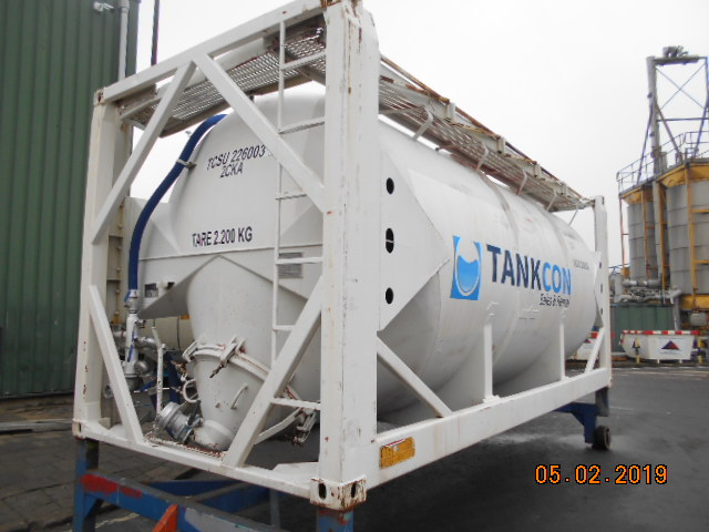26000 liters 20 feet SILO-BULK-POWDER tank container