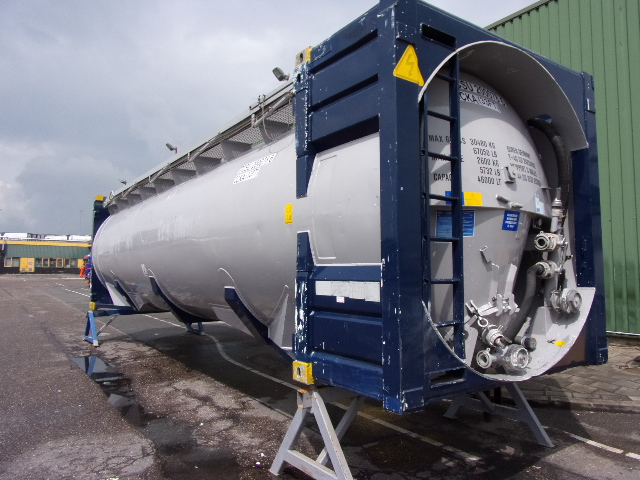 46000 liters 33 feet SILO POWDER BULK tank container