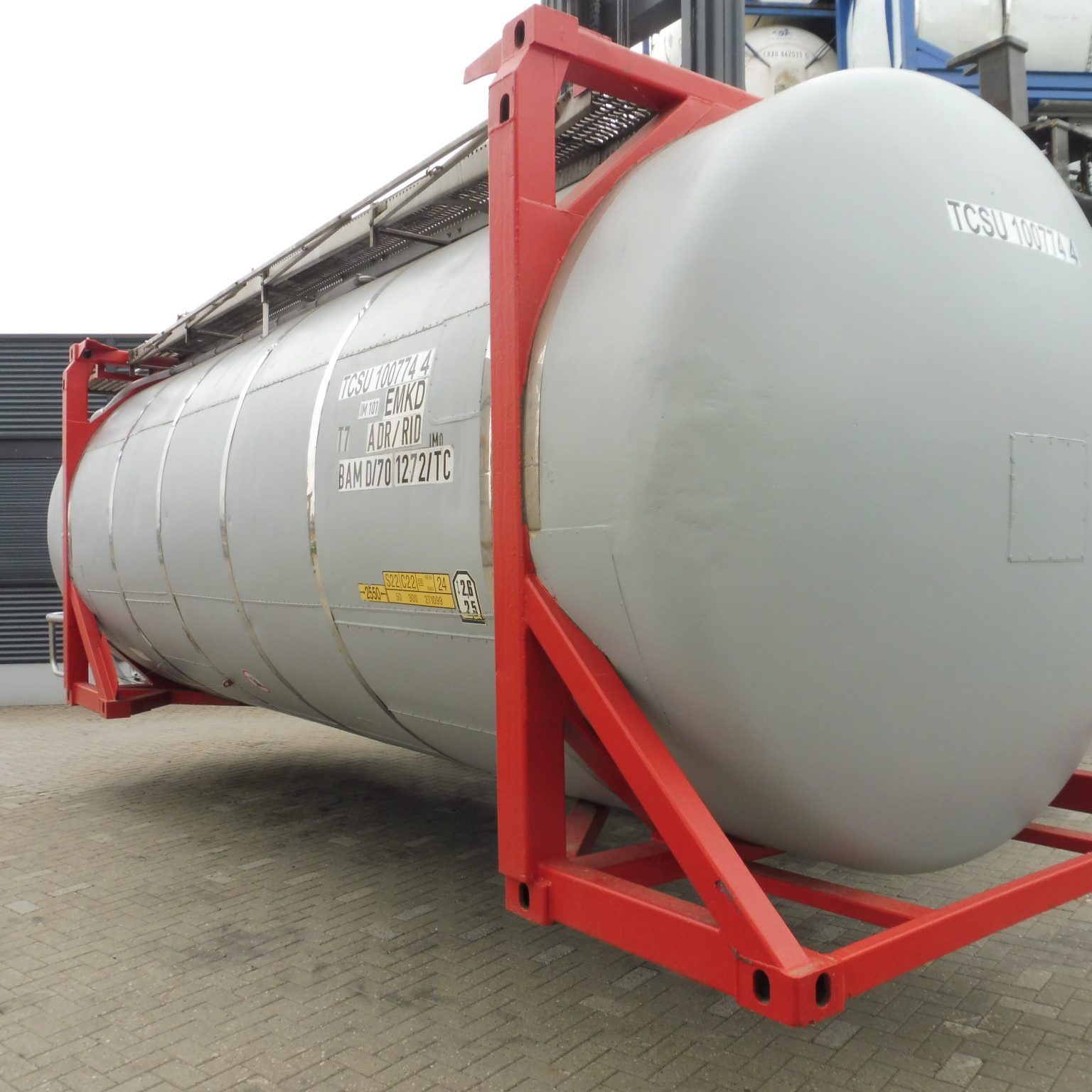 35000 liters T7 Swap tank container