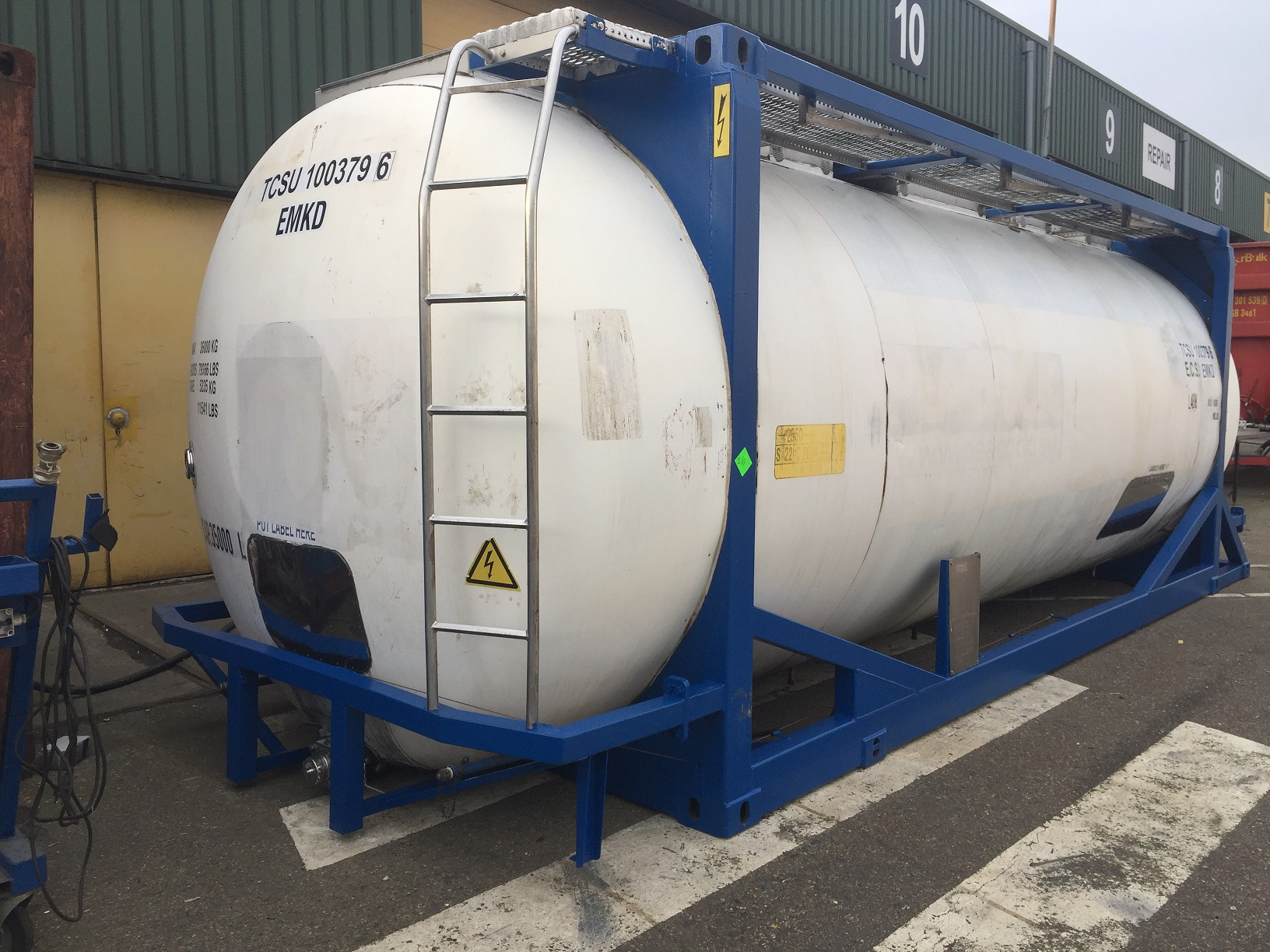 35000 liters T11 Swap Body tank container