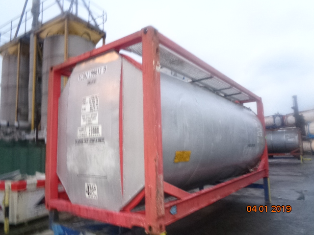 26000 liters T11 WB Tank Container